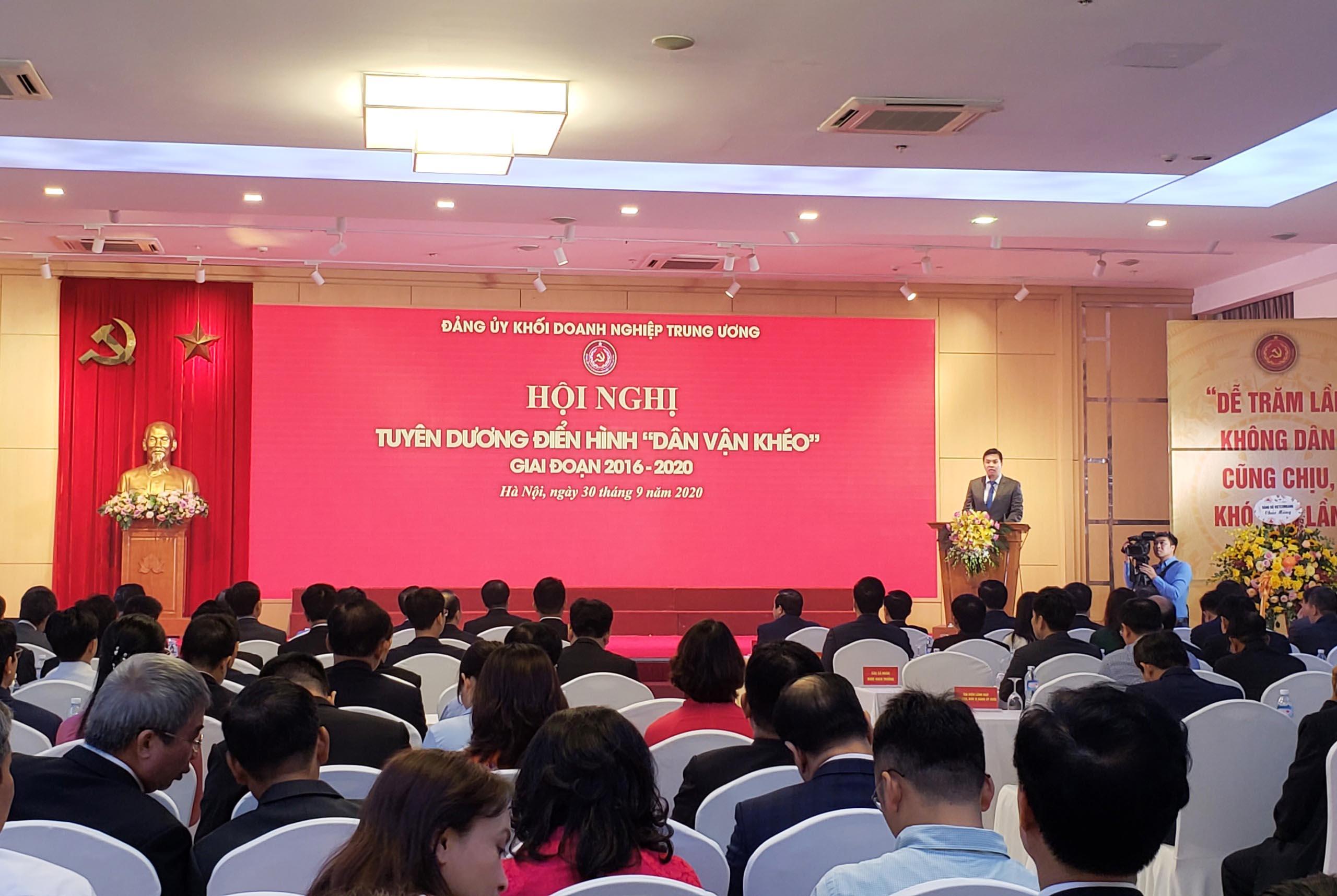Đảng ủy Khối Doanh nghiệp Trung ương tuyên dương các điển hình 'Dân vận khéo'