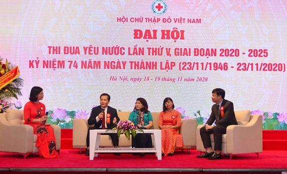Đại hội Thi đua yêu nước Hội Chữ thập đỏ Việt Nam lần thứ V