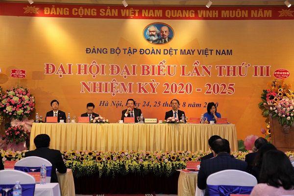 Đại hội đại biểu Đảng bộ Tập đoàn Dệt May Việt Nam