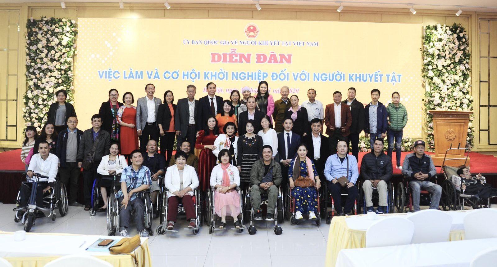 Diễn đàn việc làm và cơ hội khởi nghiệp của người khuyết tật